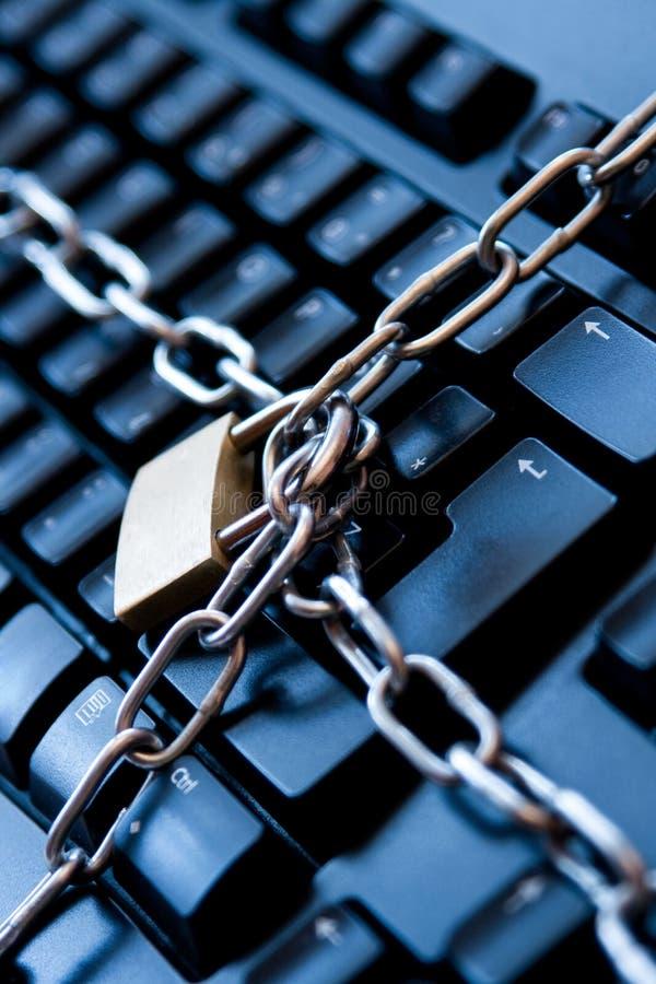 De veiligheidsconcept van Internet royalty-vrije stock afbeelding