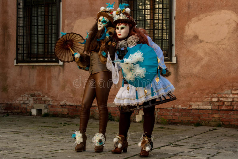 De Vele Gezichten van Venezia stock foto