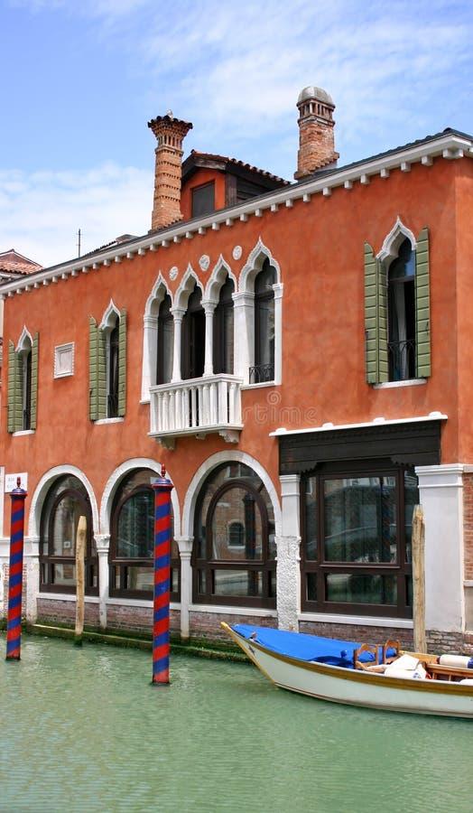 De Venetiaanse bouw royalty-vrije stock foto