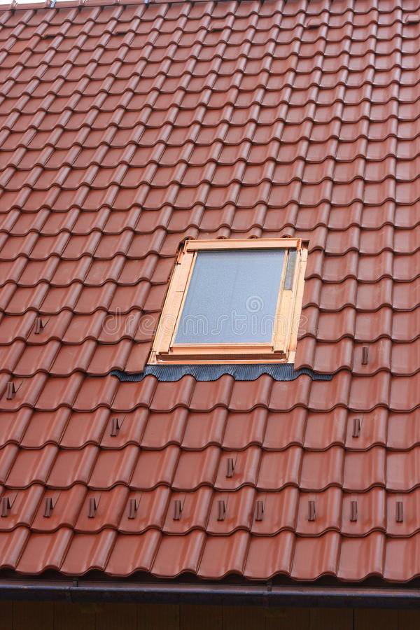 De vensters van het dak royalty-vrije stock fotografie