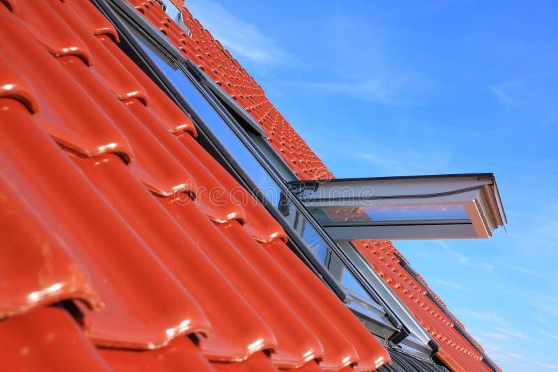 De vensters van het dak royalty-vrije stock afbeelding