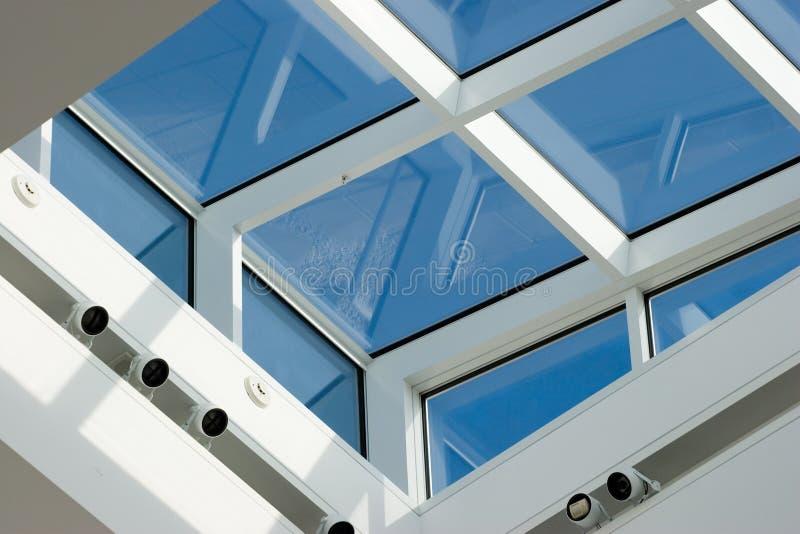 De vensters van het dakraam royalty-vrije stock afbeelding
