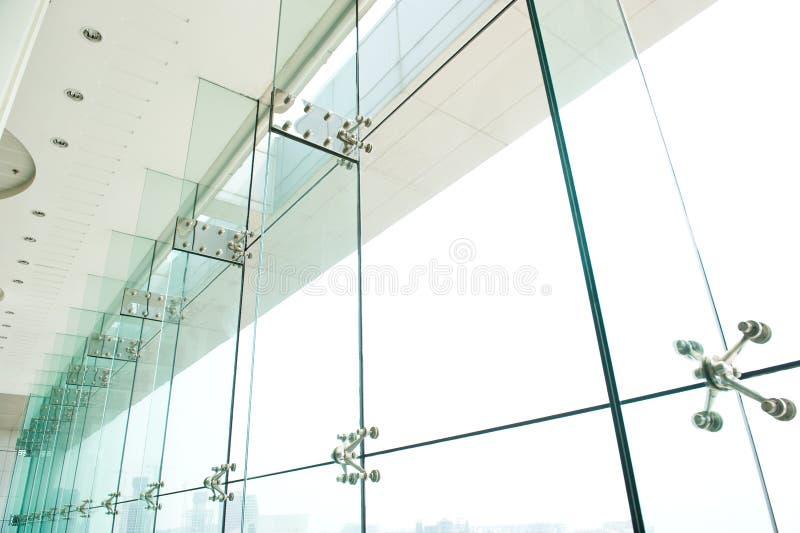 De vensters van het glas stock foto's