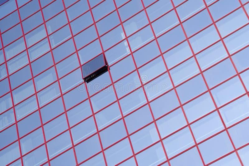 De vensters van het glas royalty-vrije stock fotografie