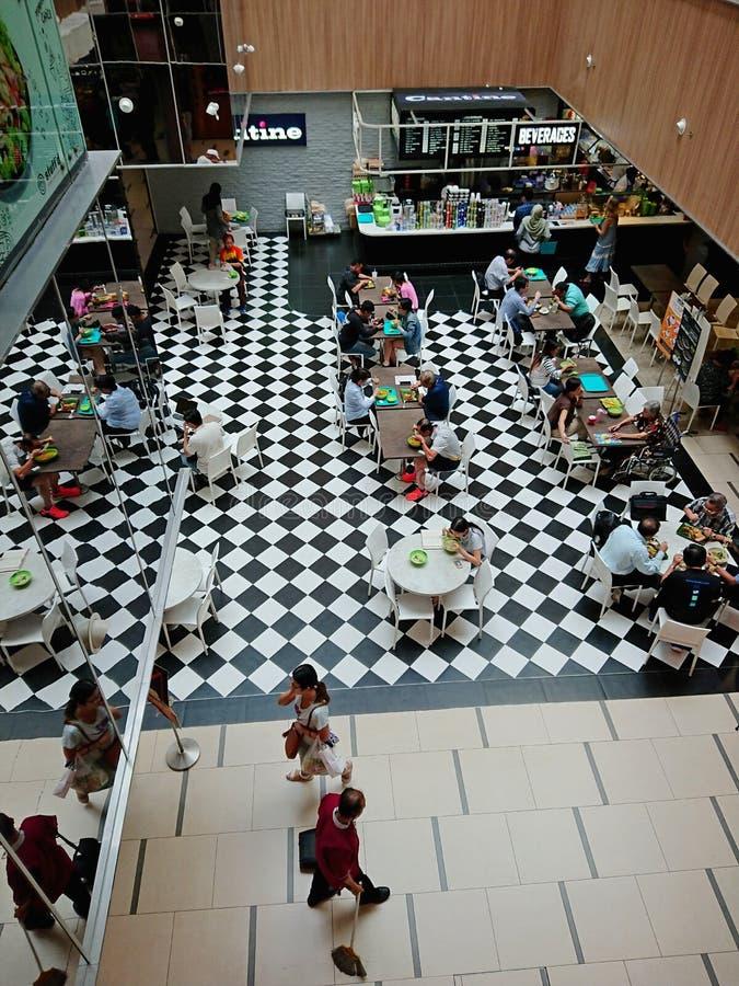 De Ventercentrum van Singapore royalty-vrije stock foto's
