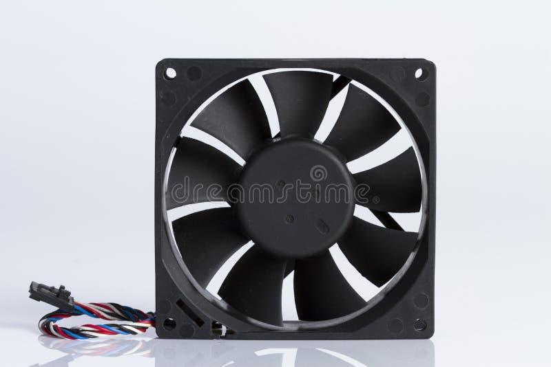De ventilator` s computer met witte achtergrond royalty-vrije stock foto's