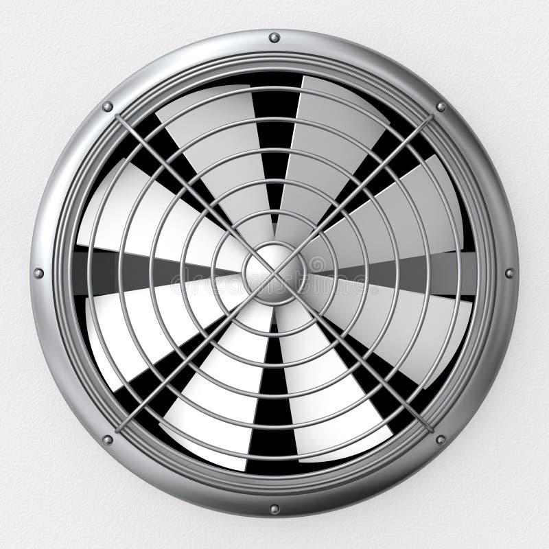 De ventilator van de ventilatie stock illustratie