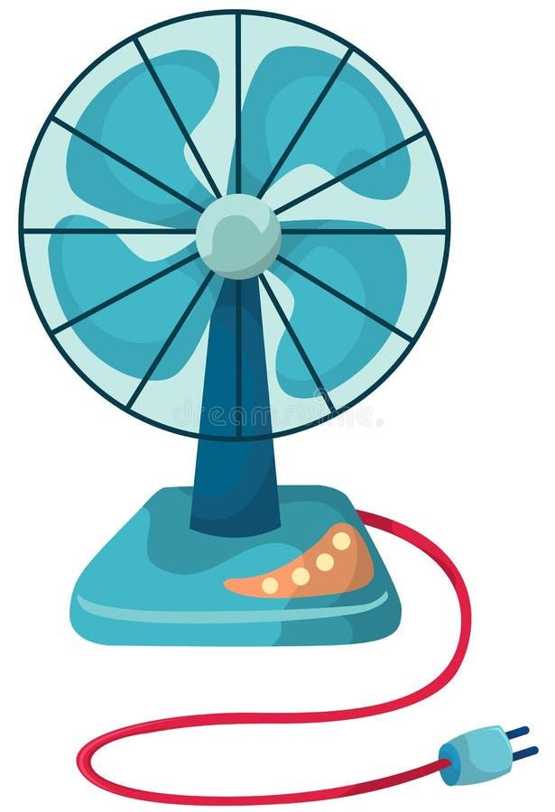 De ventilator van het bureau royalty-vrije illustratie