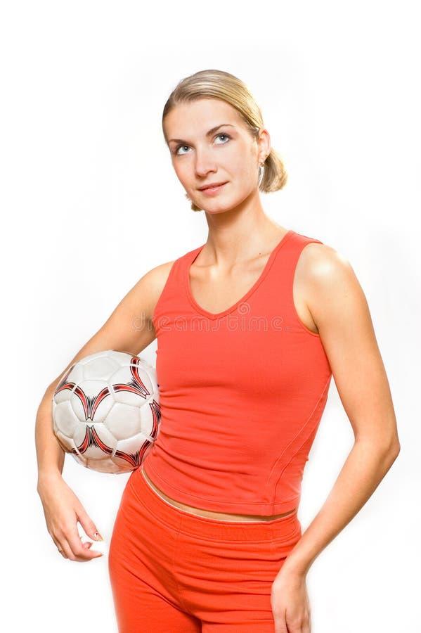 De ventilator van het voetbal royalty-vrije stock afbeeldingen