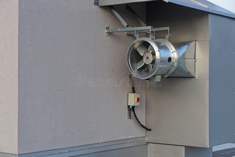 De ventilator van de Hvacbuis royalty-vrije stock afbeelding