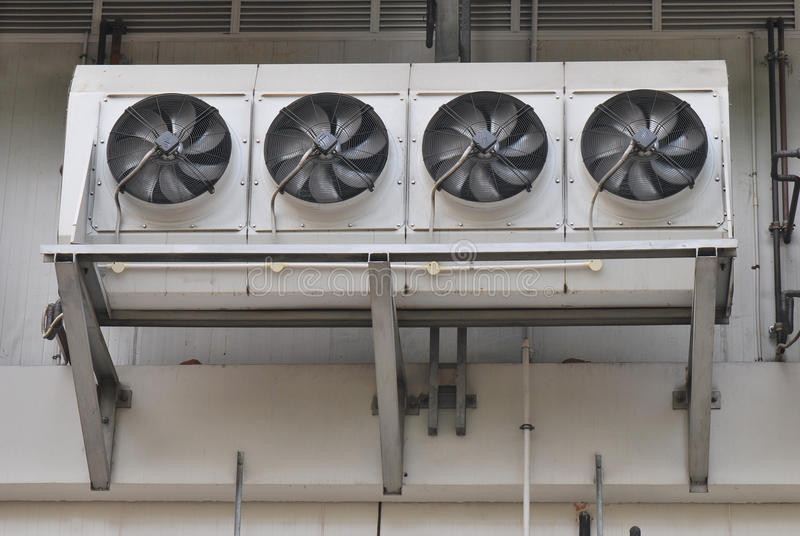 De Ventilators van de airconditioning royalty-vrije stock foto
