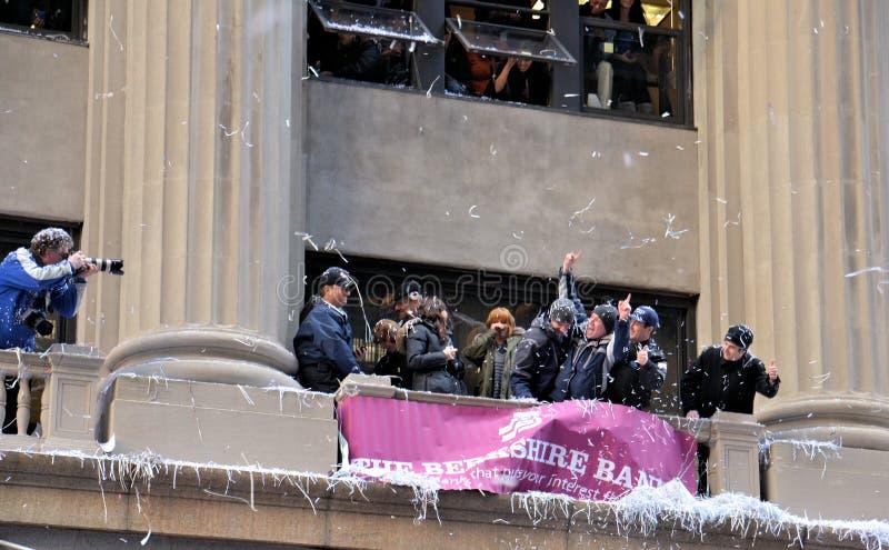 De Ventilators van de Reuzen van New York stock afbeeldingen