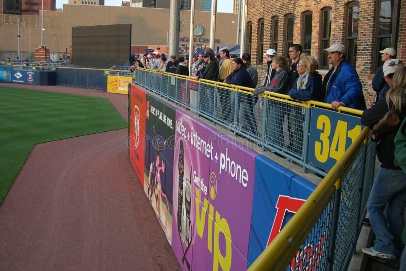 De Ventilators van het Honkbal van de Kippen van de Modder van Toledo stock afbeeldingen