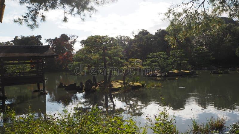 De verandering Japan van de bladerenkleur royalty-vrije stock afbeelding