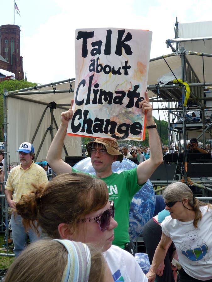 De Verandering van het klimaat stock fotografie