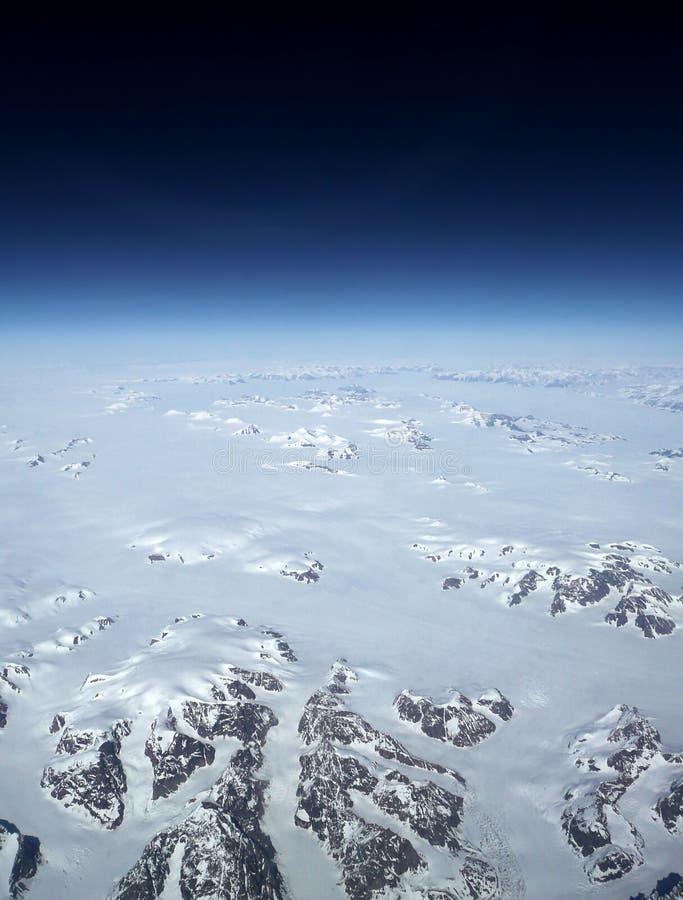De Verandering van het Klimaat van Groenland stock fotografie