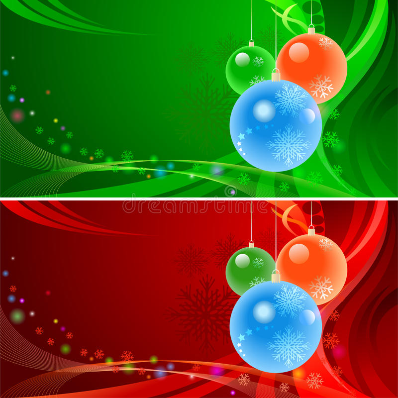 De verbazende Achtergrond van Kerstmis stock illustratie