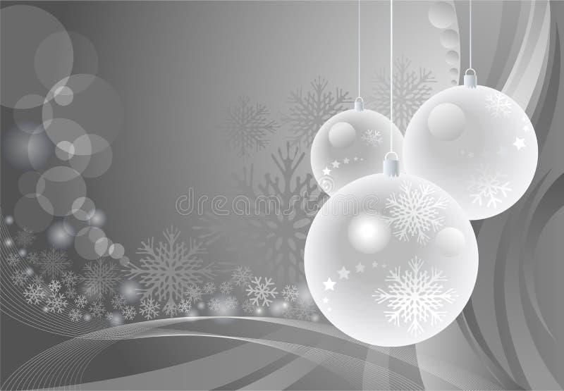 De verbazende Achtergrond van Snuisterijen voor Kerstmis stock illustratie