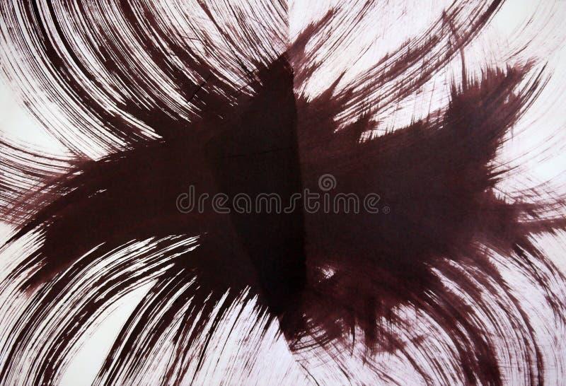 De verbazende energie van de explosie, de harmonie van de spiraalvormige omwenteling van de melkweg, stock foto