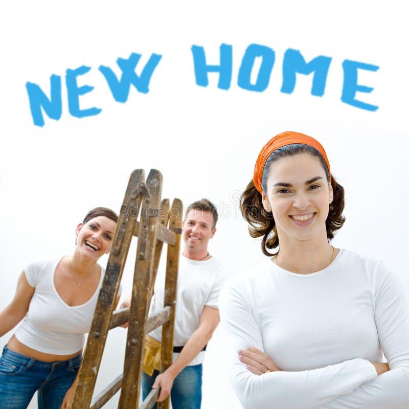 De verbetering van het huis royalty-vrije stock afbeeldingen
