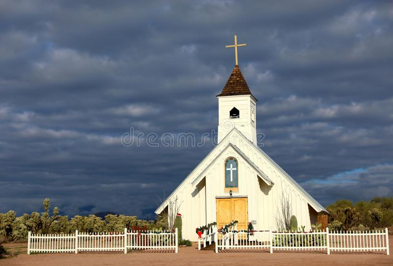 De Verbinding AZ van Elvis Presley Memorial Chapel - Apache- royalty-vrije stock fotografie