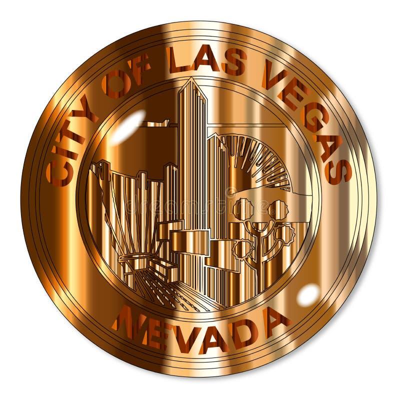 De Verbinding van het de Stadsmessing van Las Vegas stock illustratie