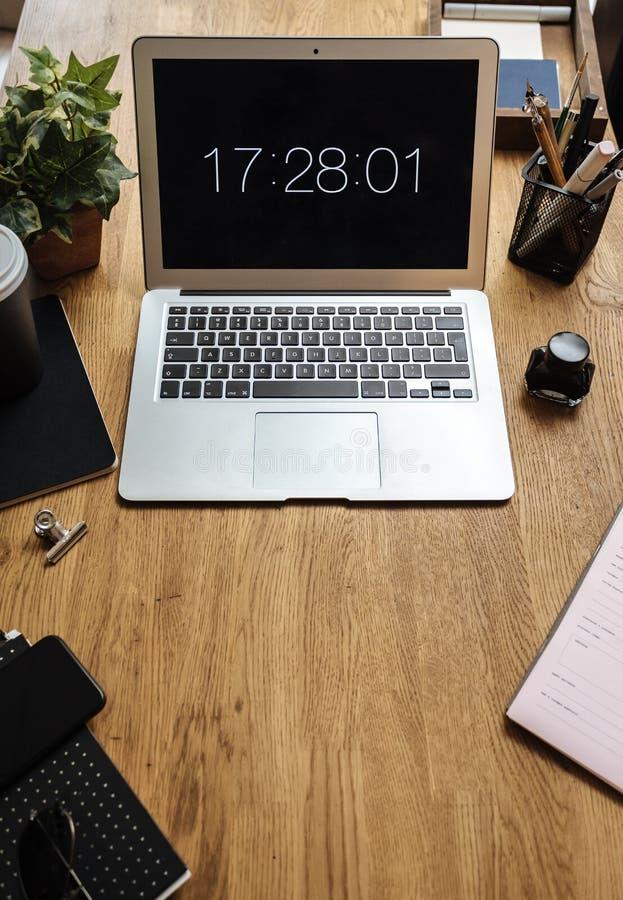 De Verbindings Digitale Technologie van het computernetwerk royalty-vrije stock fotografie