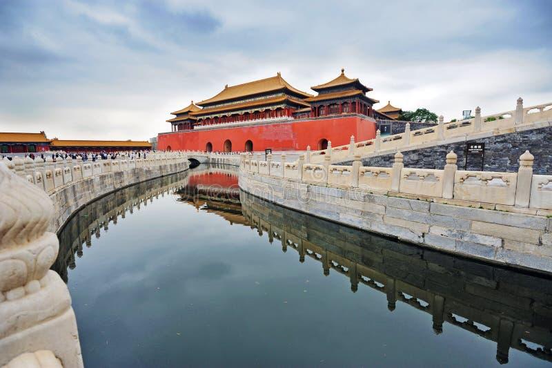 De verboden Stad (Gong Gu) stock afbeeldingen