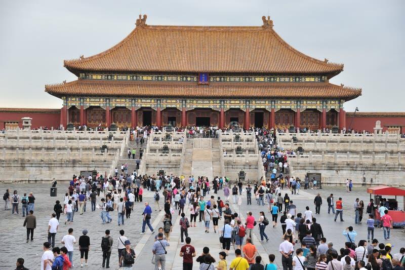 De verboden Stad (Gong Gu) stock foto's