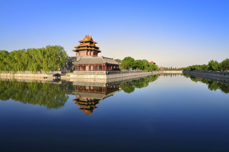 De Verboden Stad van China Peking royalty-vrije stock afbeeldingen