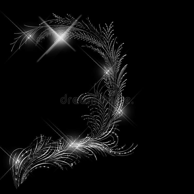 De veren van de aantrekkingskracht royalty-vrije illustratie