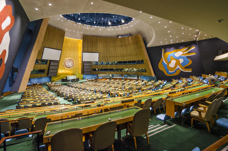 De Verenigde Naties royalty-vrije stock fotografie