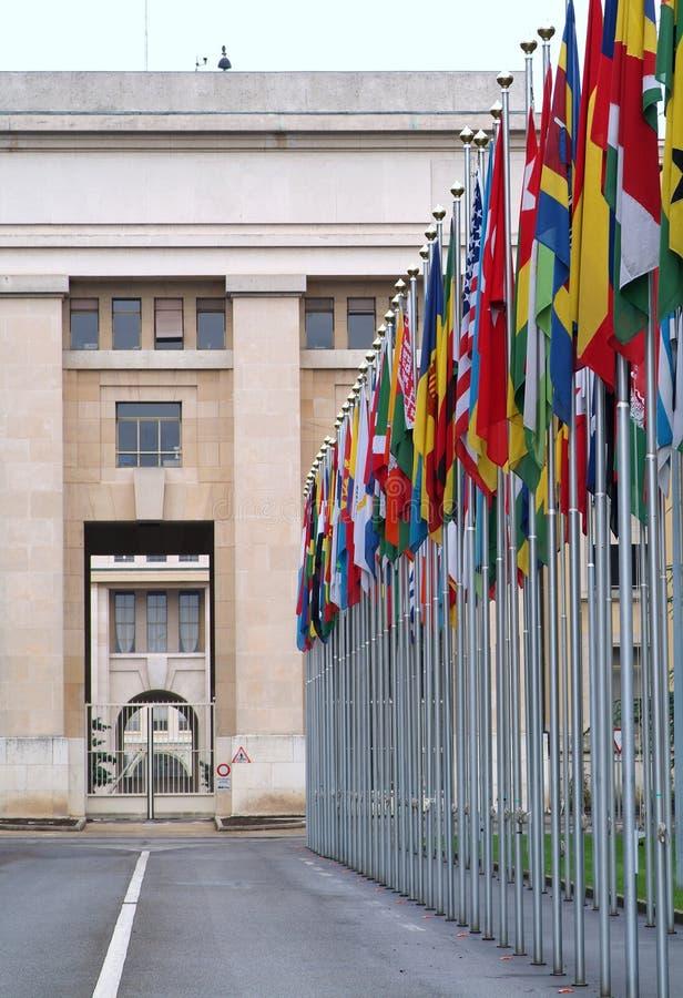 De Verenigde Naties royalty-vrije stock afbeelding