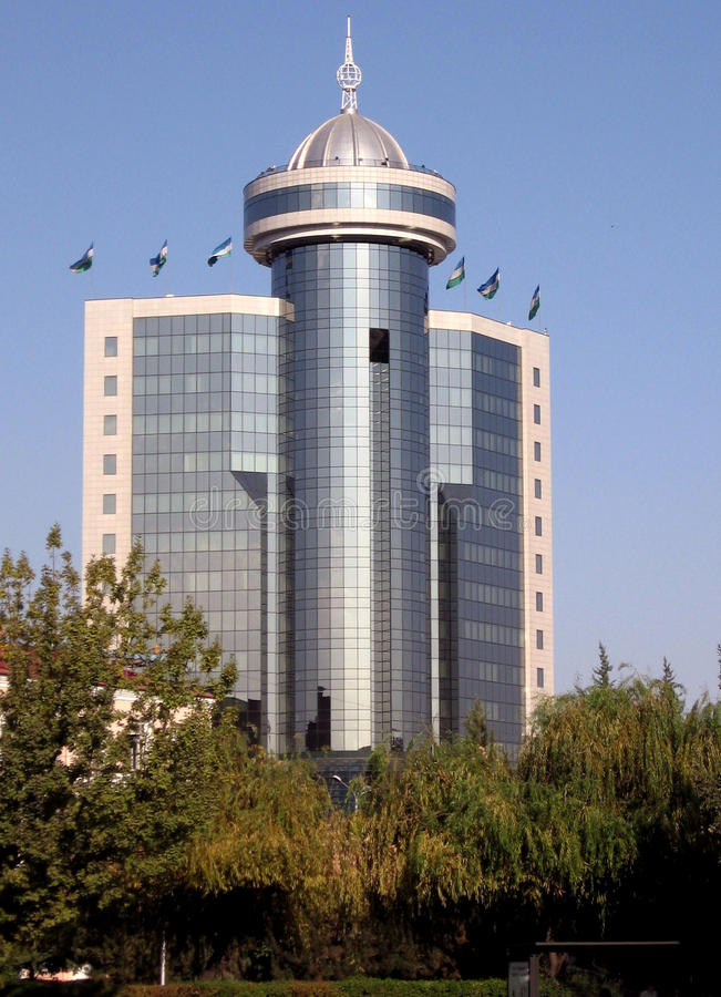 De Vereniging die van Tashkent van Banken 2007 bouwt royalty-vrije stock fotografie