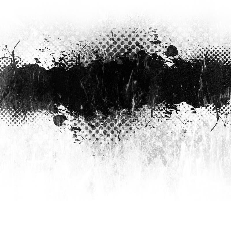 De Verf van Grunge ploetert royalty-vrije illustratie