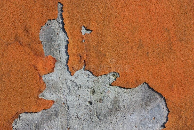 De Verf van de schil op Muur royalty-vrije stock afbeelding