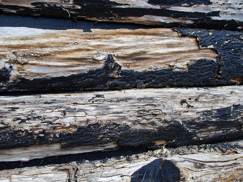 De verf zwarte houten textuur van de Grungeschil royalty-vrije stock afbeeldingen