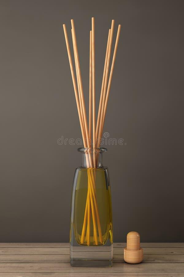 De Verfrissing van de Aromatherapylucht het 3d teruggeven stock illustratie