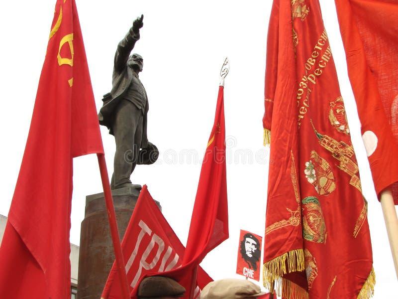 De vergadering van communisten royalty-vrije stock foto