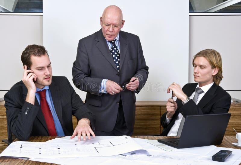 De vergadering van het ontwerp stock afbeelding