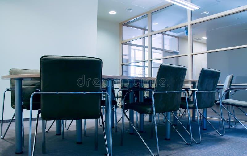 De vergaderingsruimte van het bureau stock foto