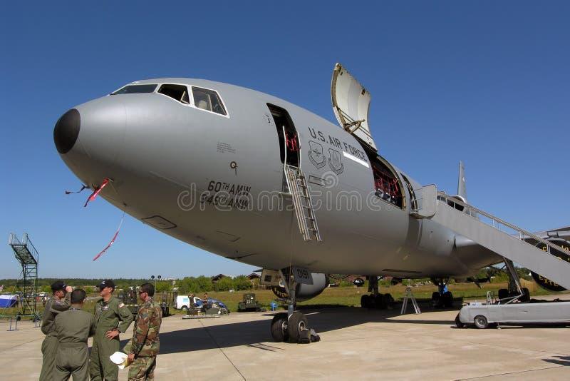De Vergroting van McDonnell Douglas kc-10A stock foto