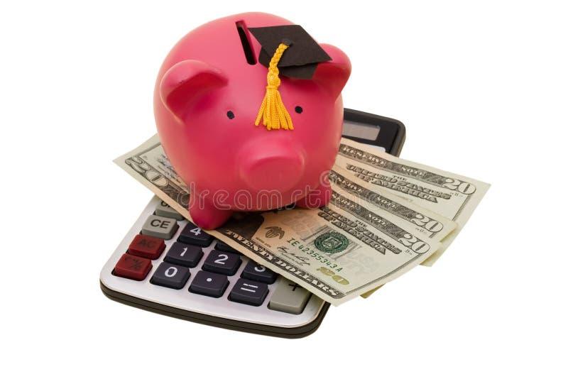 De verhoogde Kosten van het Onderwijs royalty-vrije stock afbeelding