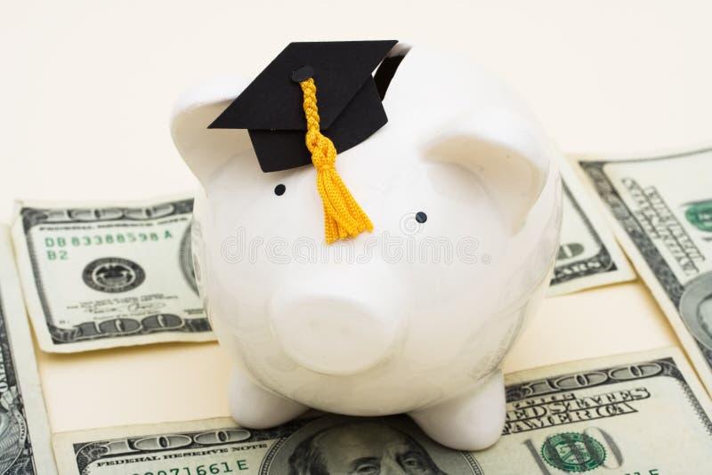 De verhoogde Kosten van het Onderwijs stock afbeelding