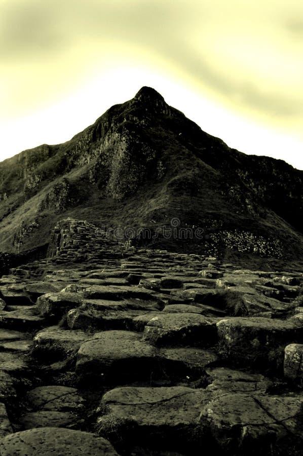 De Verhoogde weg van reuzen, Noord-Ierland royalty-vrije stock fotografie
