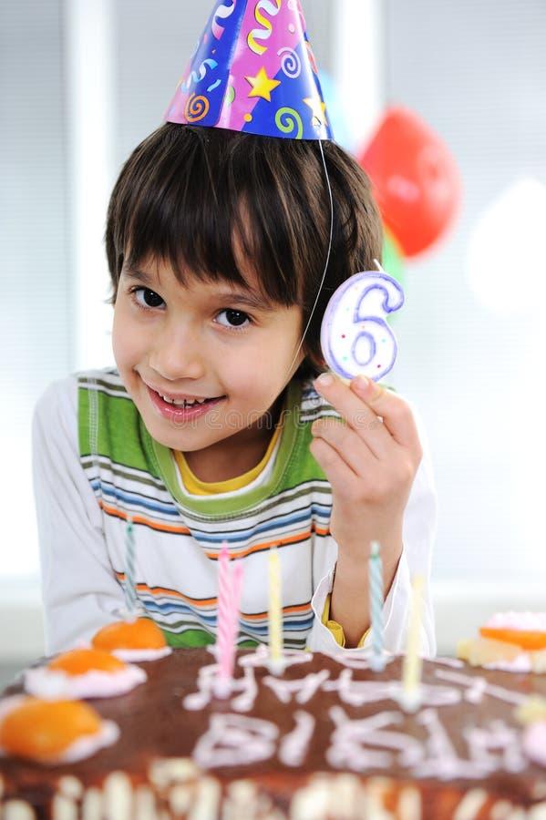 De verjaardag van het kind stock afbeeldingen