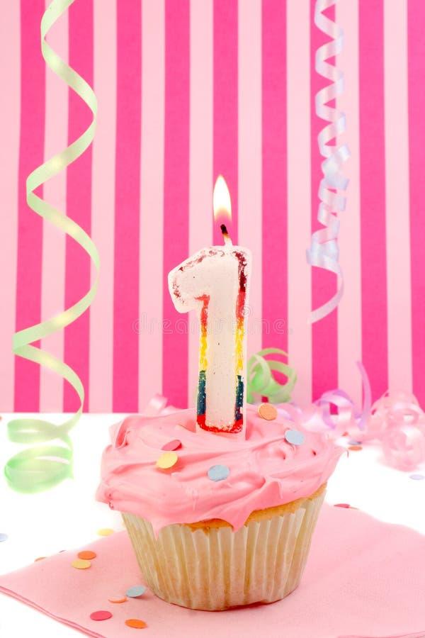 De verjaardag van het meisje van de baby royalty-vrije stock foto's