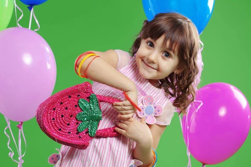 De verjaardag van kinderen royalty-vrije stock afbeelding