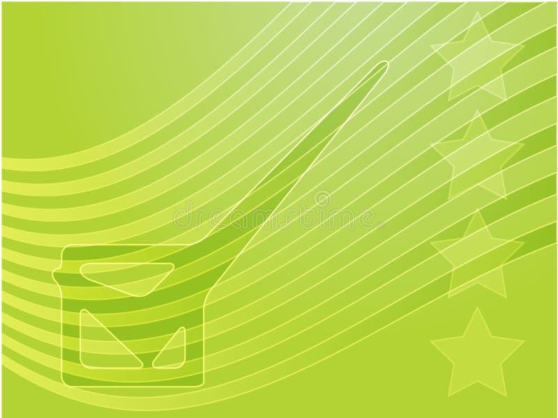 De verkiezing van de V.S. stemmingsillustrati vector illustratie
