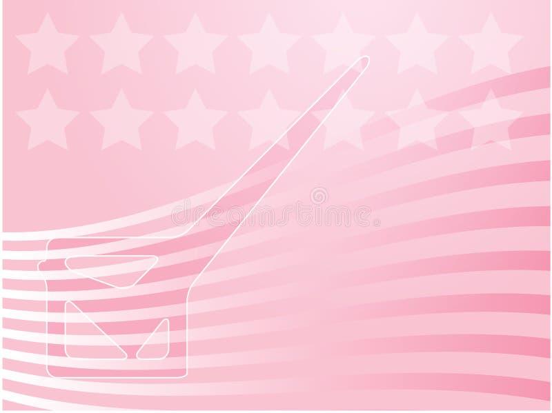De verkiezing van de V.S. stemmingsillustratie vector illustratie